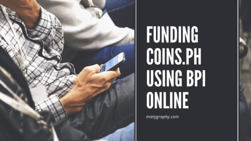 funding your coinsph via BPI online