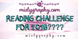Reading challenge for 2018???