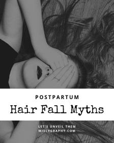 postpartum hair fall myths