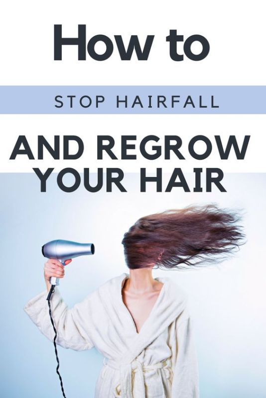 Tips on how to prevent hair fall and regrow them.