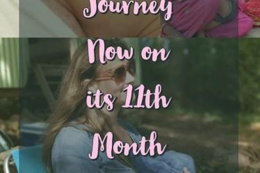 Breastfeeding journey