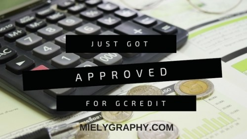 Just got approved for GCredit