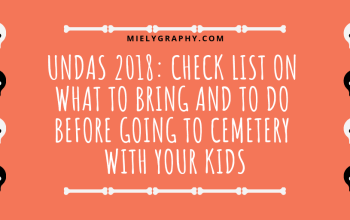 Undas 2018_ Check list on what to bring and to do before going to cemetery with your Kids