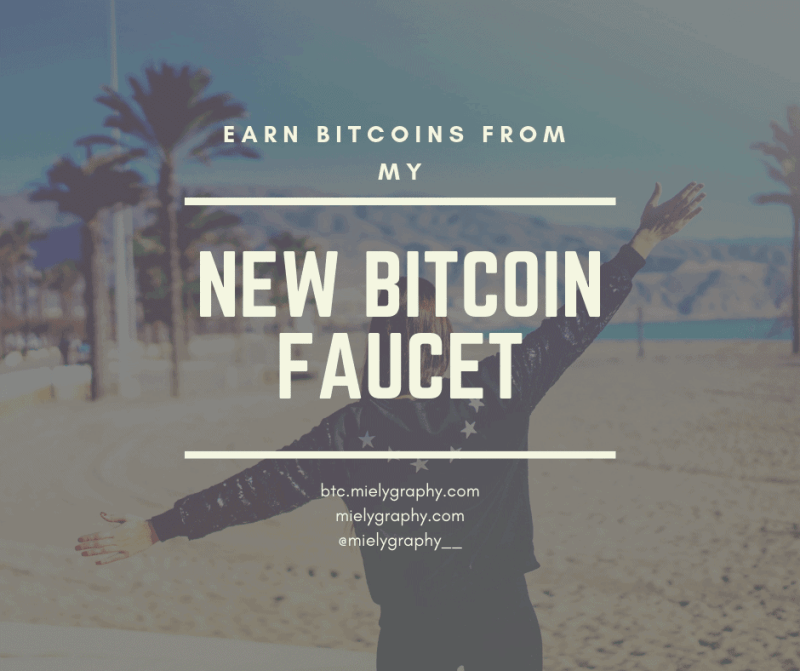Just sharing my latest bitcoin faucet