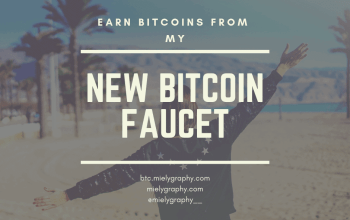 Mielygraphy's new bitcoin faucet