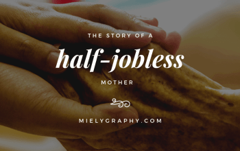 The Story of a half-jobless mother