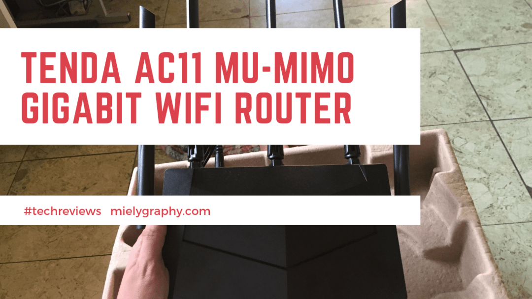 Tenda AC11 MU-MIMO|AC1200 Wi-Fi Router(Review)