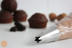 Cupcake de Brownie prep 2
