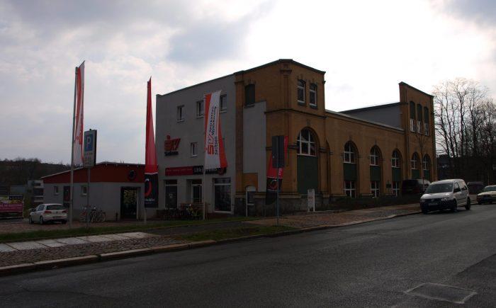 Geschäftshaus an der Ahornstraße vorn Vorn
