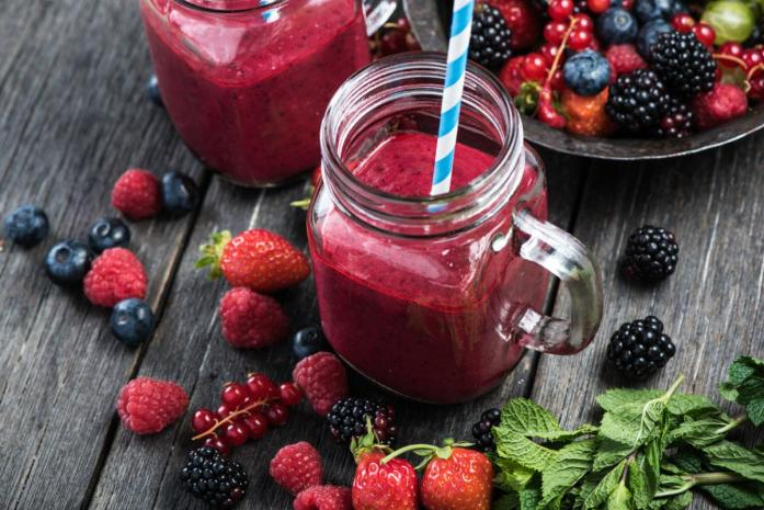 smoothie-de-frutos-rojos
