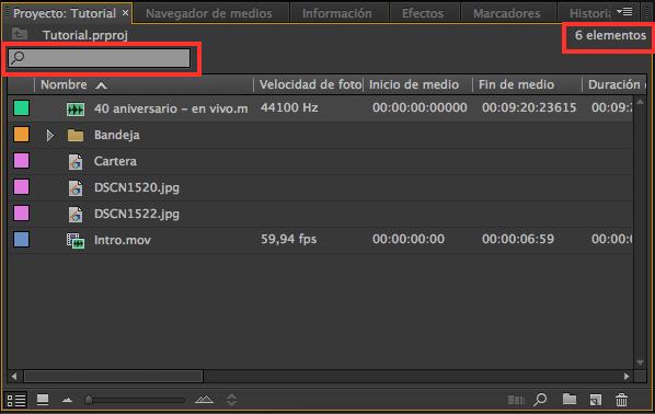 Importar Archivos, Tutorial Adobe Premier Pro Tutorial