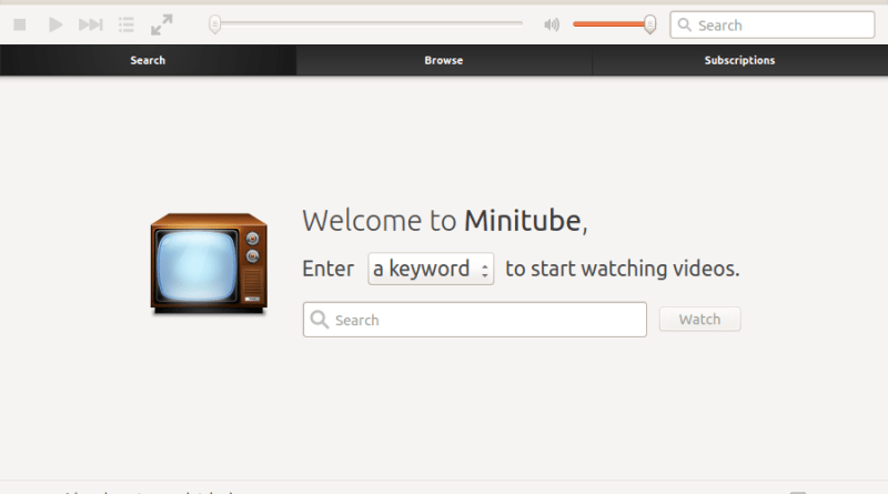 Review: Minitube, el cliente de YouTube para PC