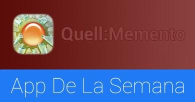 escapedigital-Quell Memento: App de la semana para iPhone