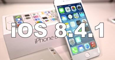Apple acaba de liberar iOS 8.4.1