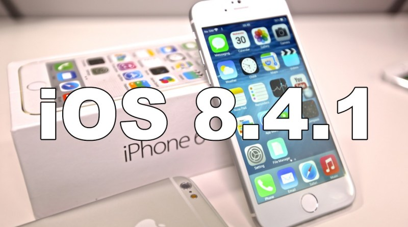 Apple acaba de liberar iOS 8.4.1