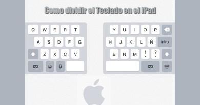 Como dividir el teclado en el iPad