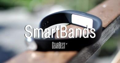 4 increíbles SmartBand en GearBest