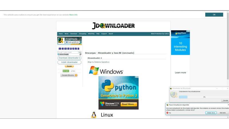 jdownloader -updates