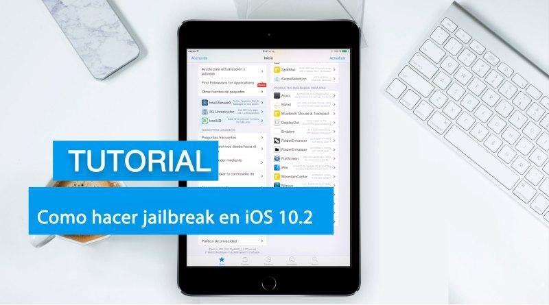 Jailbreak iOS en 10.2
