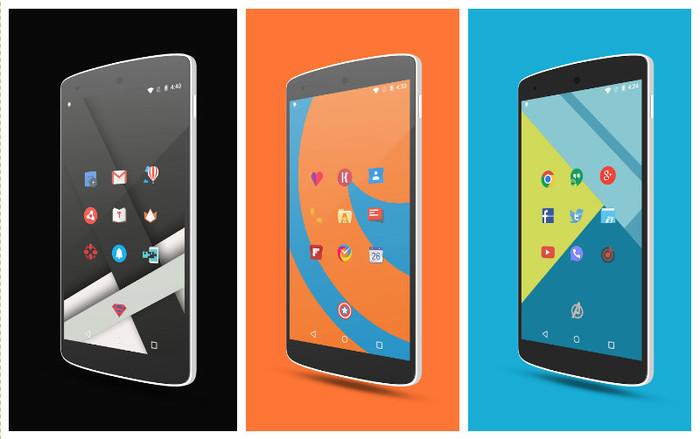 Los Mejores Packs de Iconos para Android gratis