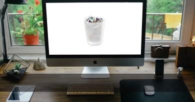 la Papelera de reciclaje en Mac OS X