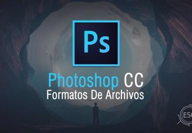 Conceptos Básicos: Formatos de archivos que soporta Photoshop