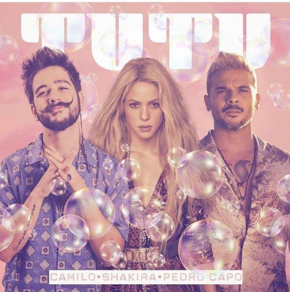 Shakira se une a Camilo & Pedro Capó para nueva versión de «Tutu»