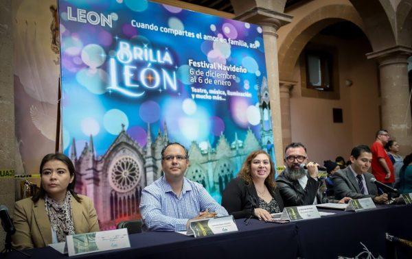 Regresa el Festival Navideño: Brilla León