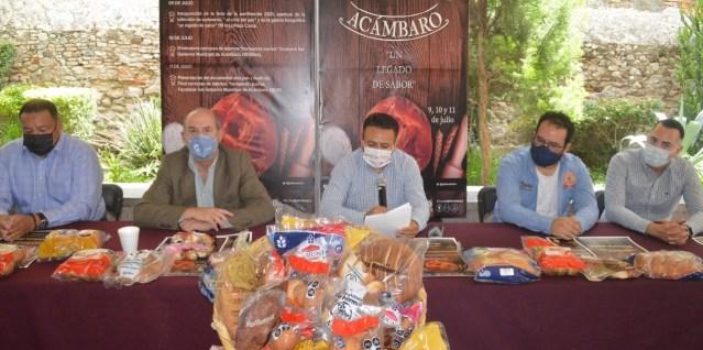 Celebran Feria de la Panificación del 9 al 11 de julio en Acámbaro