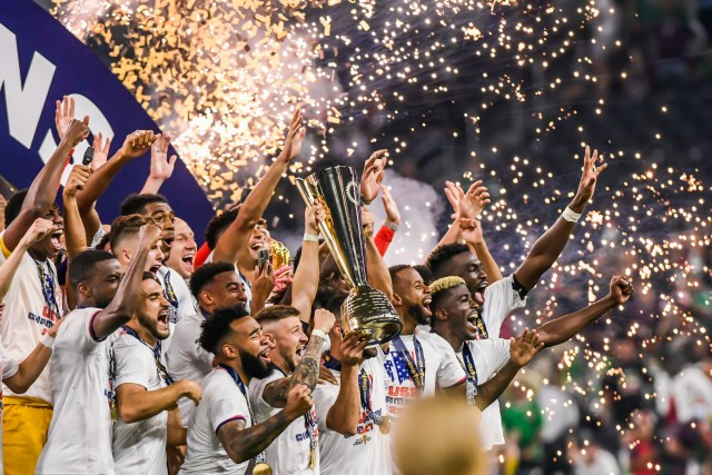 Estados Unidos, ganador de la Copa Oro