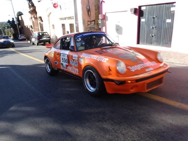 Guanajuato en la etapa de velocidad más tradicional de La Carrera Panamericana