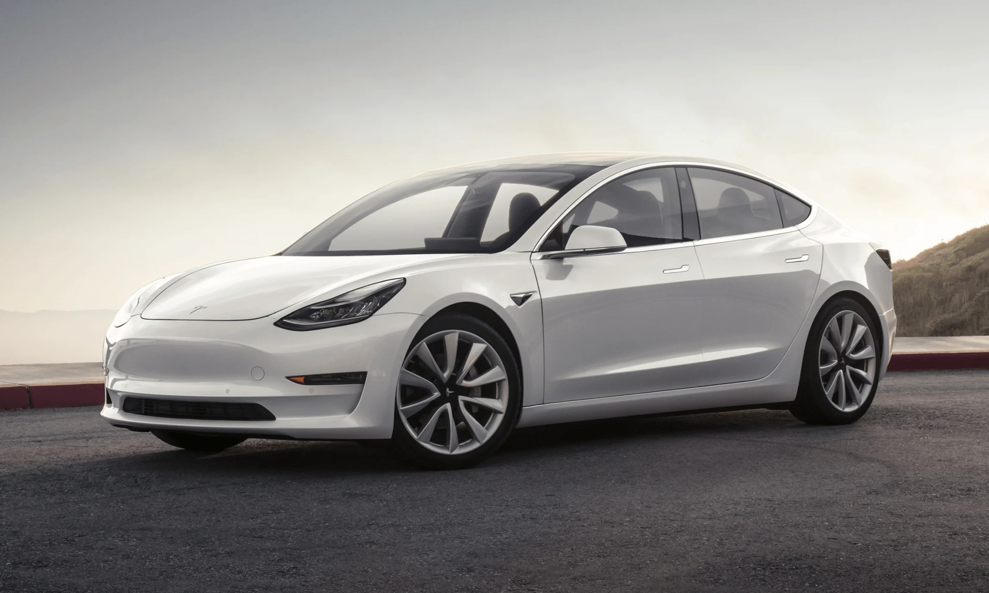 Tesla Model 3 Mountain Pearl