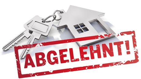 Wohnungsbewerbung: Mietinteressenten vom Vermieter abgelehnt