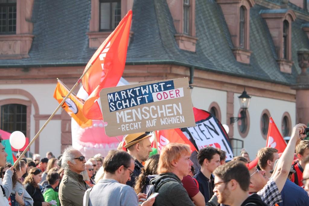 Mietenwahnsinn: Demo in Frankfurt zeigt Wirkung