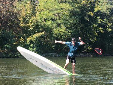 Freestyle auf dem Board