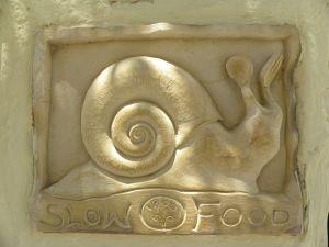 El caracol como símbolo de la alimentación y la vida lentas