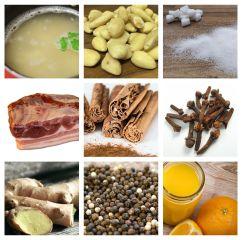 Ingredientes salsa mig-raust