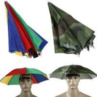 Parapluie de pêche pour la tête pluie soleil