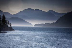 paysage montagne lac mer peche