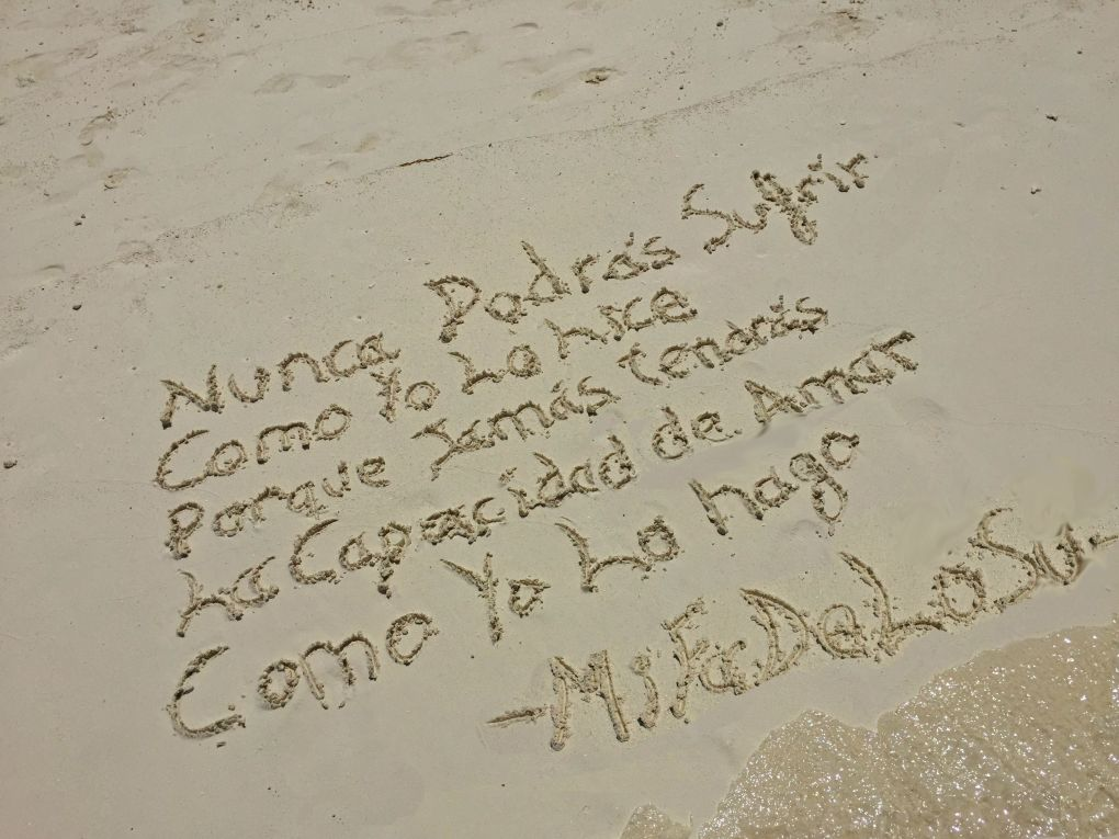 maldivas frase playa definitiva