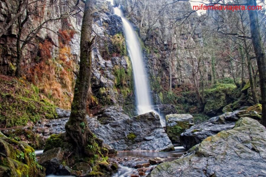 Cascada de la Firbia, Cascadas de Oneta, Asturias