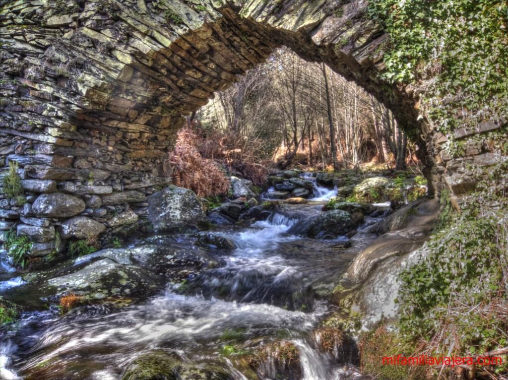 Puente de los Machos, río de los Ángeles, Ovejuela, Las Hurdes