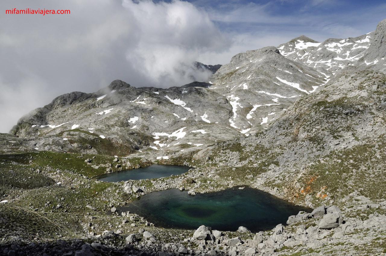 Picos de Europa, Lagunas de Lloroza ,Fuente Dé
