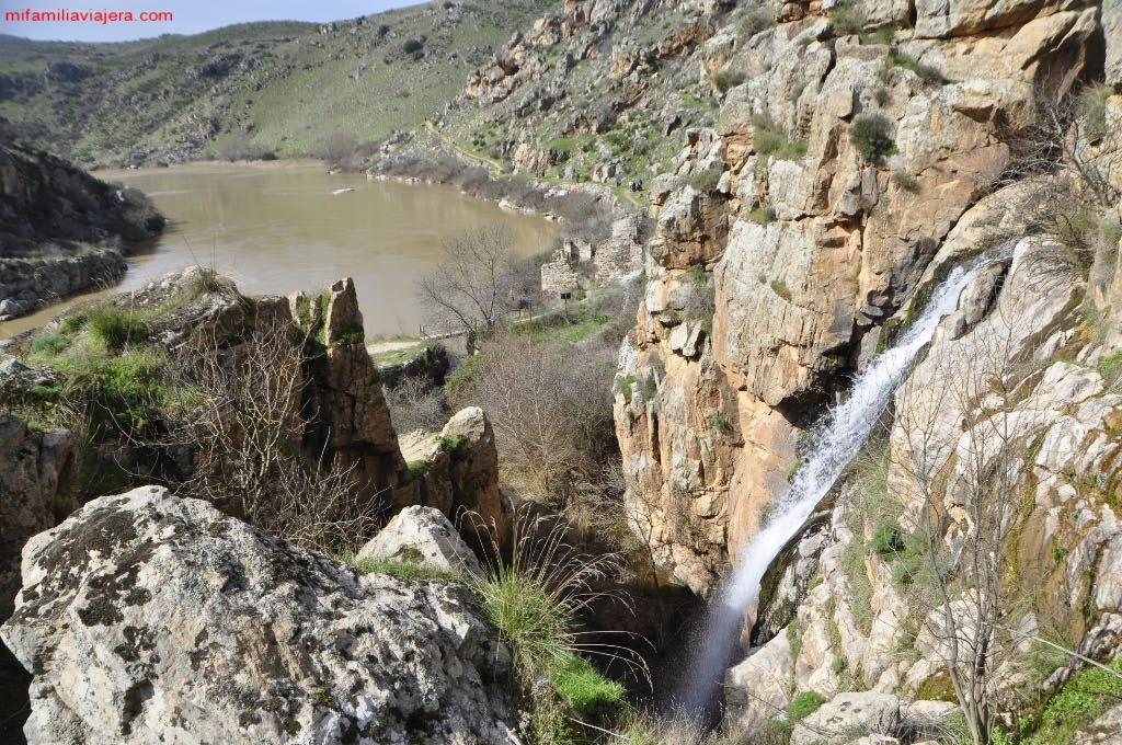 Cascada superior de Las Pilas