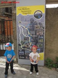 Sendero Natural de los Molinos y Yacimientos Visigodos , San Martín del Castañar, Salamanca