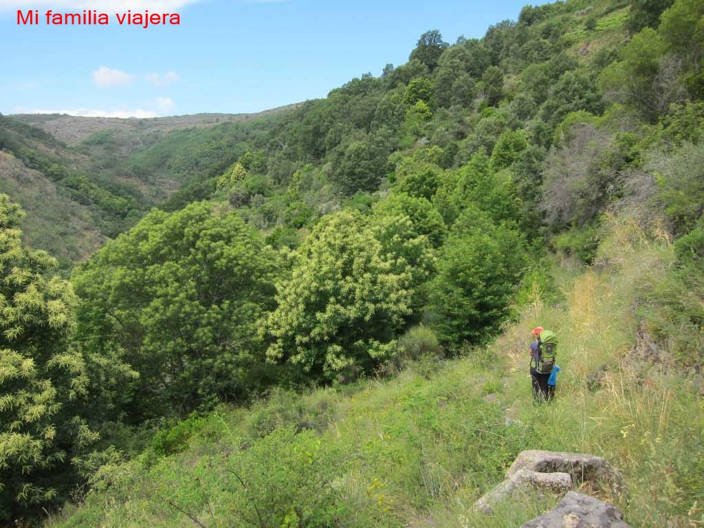 Sendero Natural de los Molinos y Yacimientos Visigodos , San Martín del Castañar, Salamanc