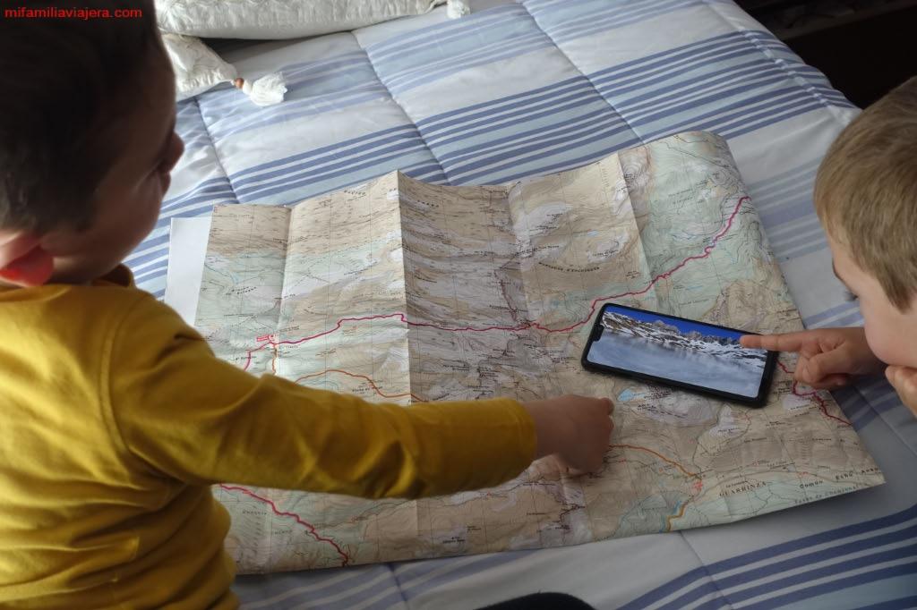Aprendiendo a interpretar un mapa