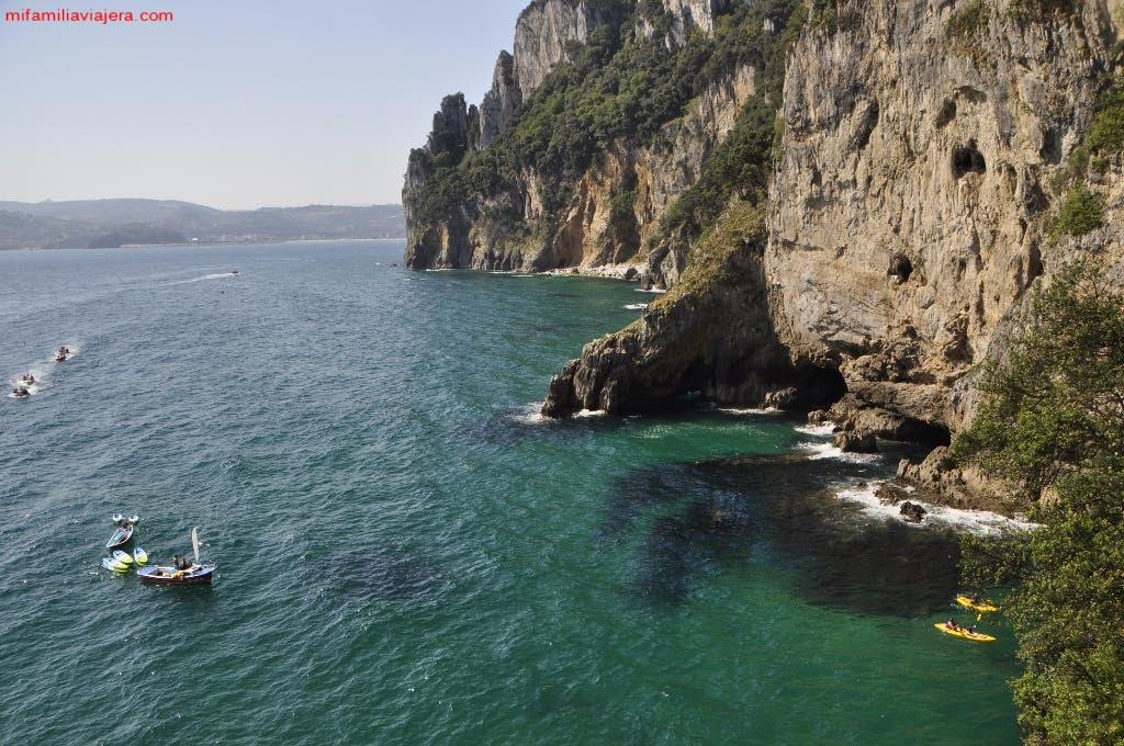 Acceso al Faro en kayak