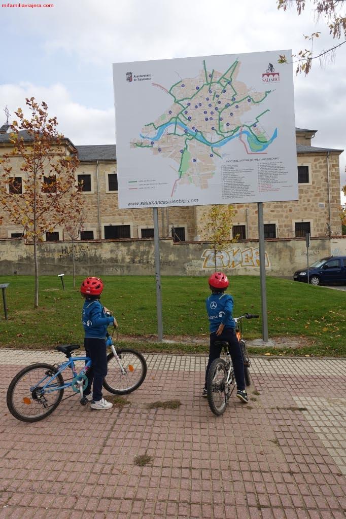 Plano del carril bici