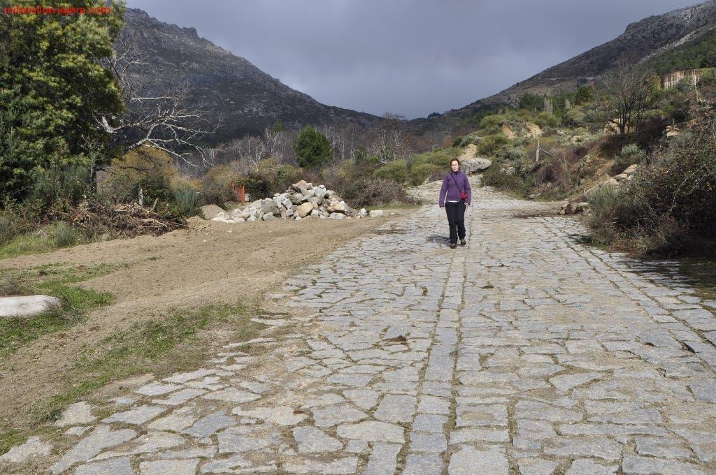 Calzada romana Puerto del Pico